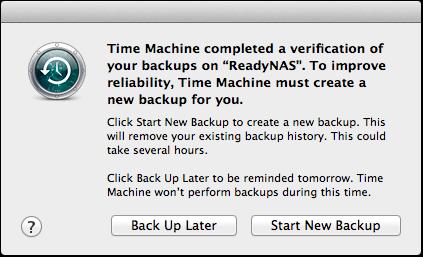 reset time machine